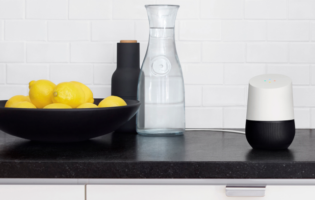 Google-home-in-kitchen