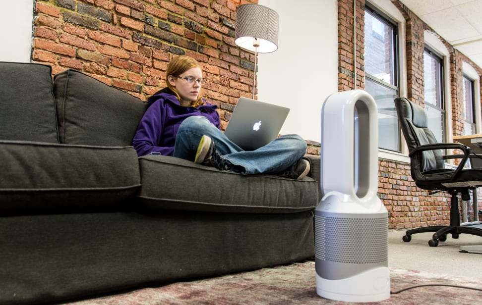 The Dyson Pure Hot+Cool Link can heat a room or just a single person.