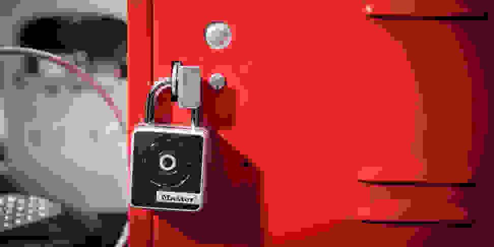 The Master Lock Bluetooth Smart Padlock