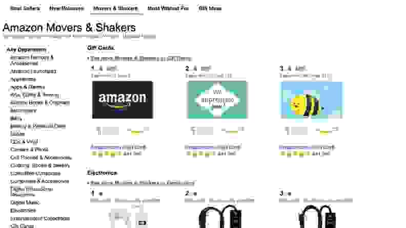 Movers & Shakers Screenshot