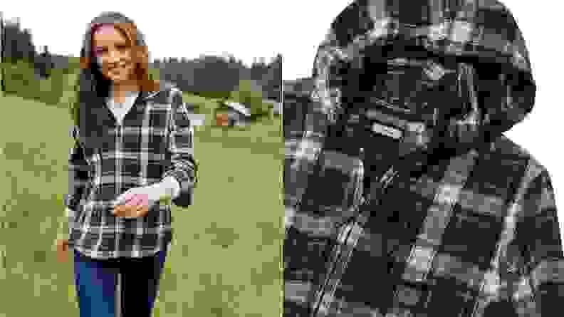 LLBean Plaid Shirt