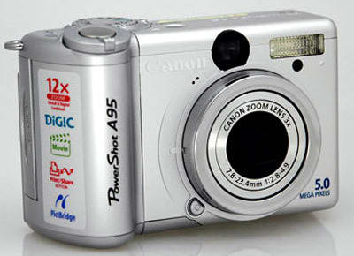 Product Image - Canon PowerShot A95