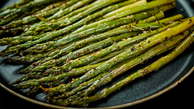 Best cookware for induction: asparagus