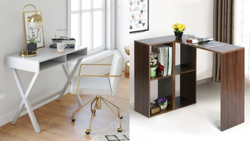 Set up a little work station on one of these budget-friendly desks.
