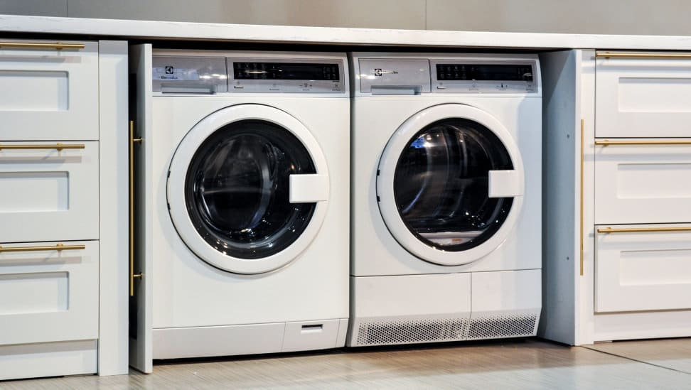 An Electrolux compact washer and dryer