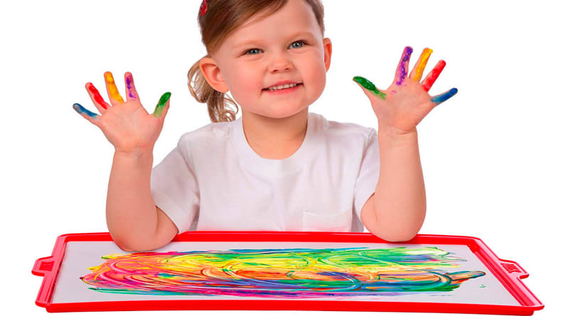 LARGE Messy Mat for painting gluing art /& craft kids children creative XMAS Gift