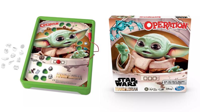 Baby Yoda operation