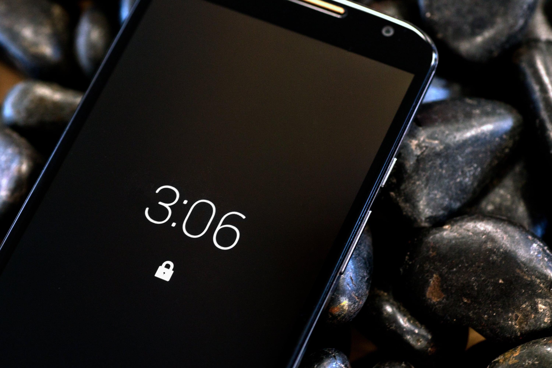 The Motorola Moto X (2014 edition)'s active notifications