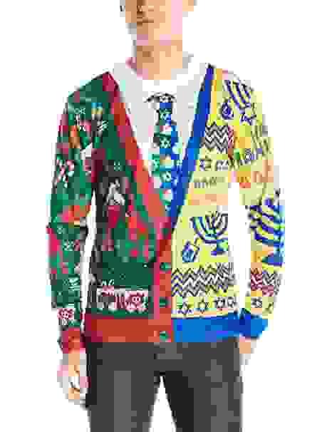 Half and Half Sweater