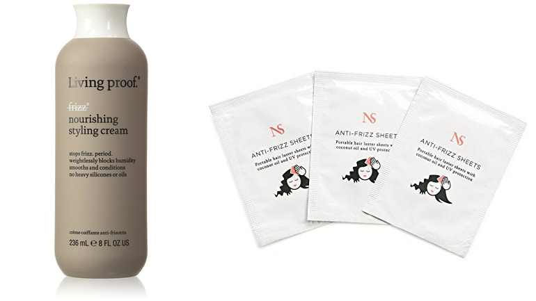Anti-frizz hair care products