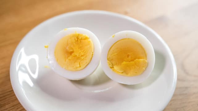 Hard-Boiled Egg - Open