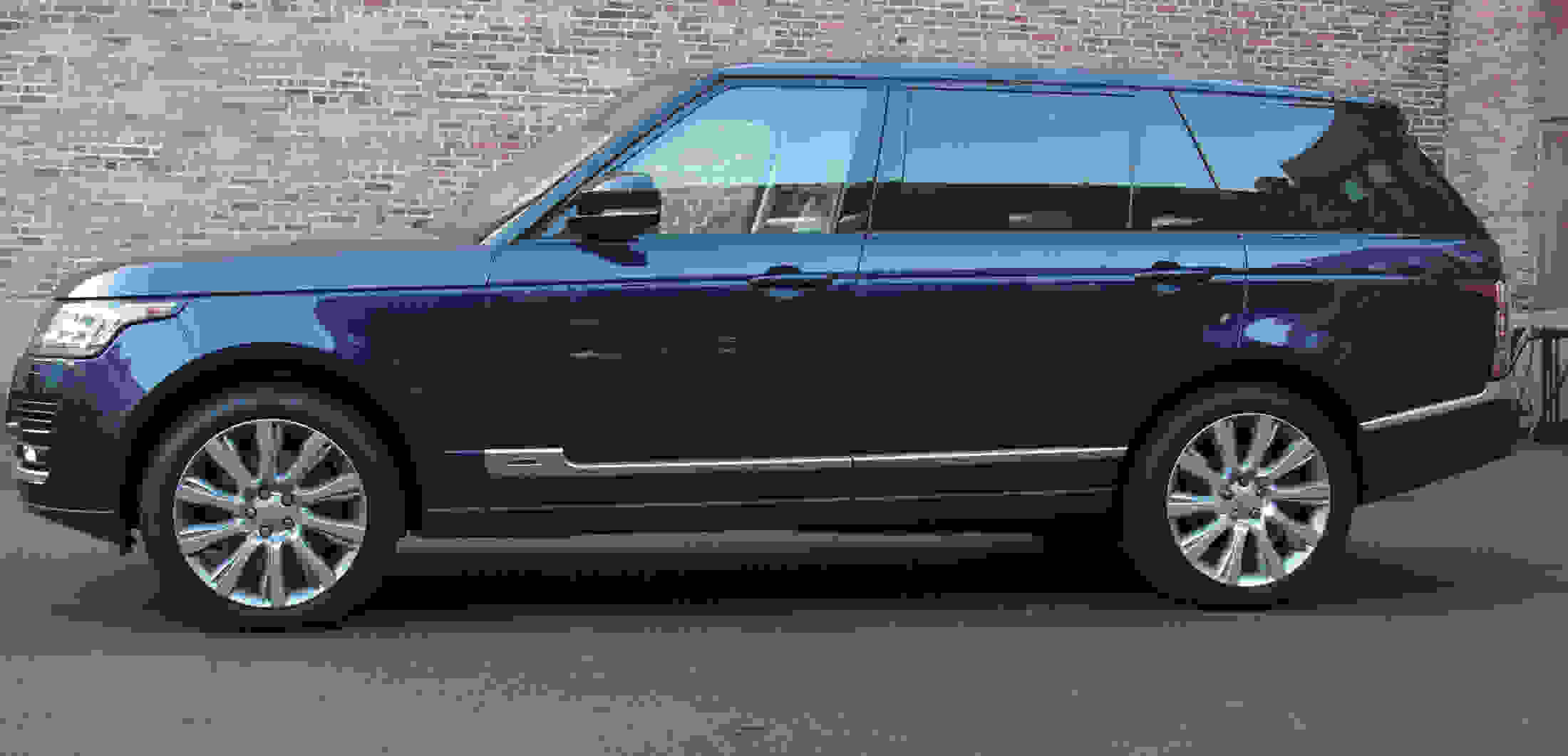 The Long Wheelbase Range Rover has been stretched by 7.8 inches.