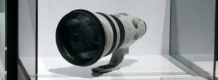 Canon 600mm f4l do br prototype 600mm under glass