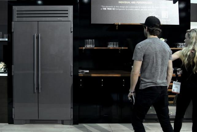 True's new fridge finish