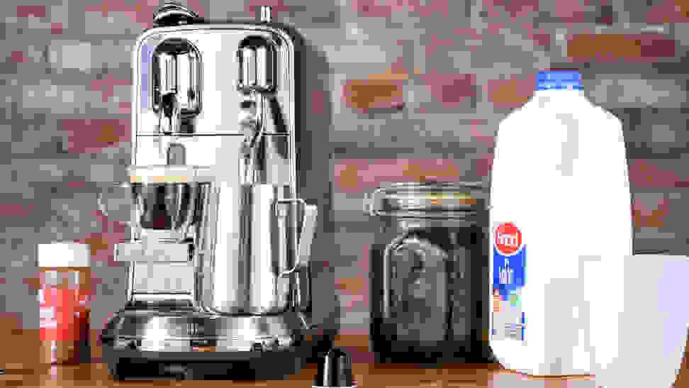 The best pod espresso maker is the Nespresso Creatista Plus by Breville.