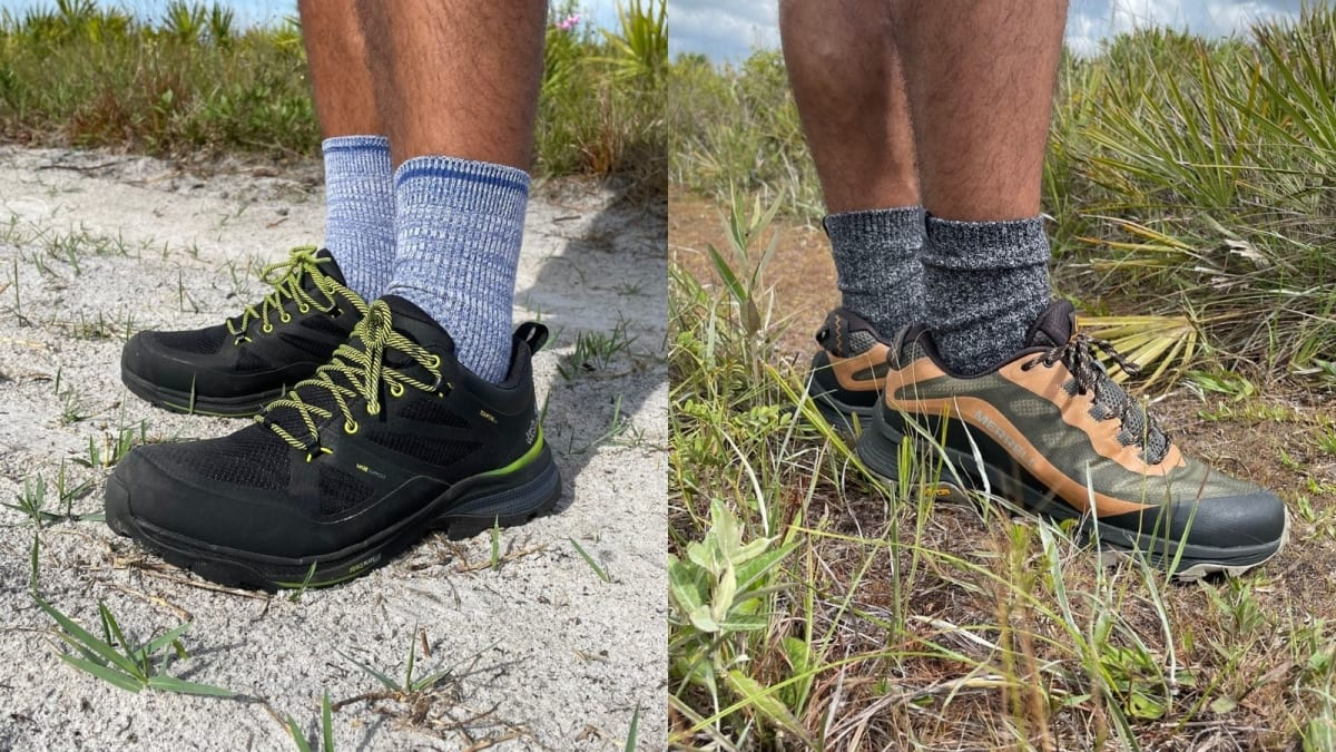 I put two popular hiking shoes to the test—and there's a clear winner