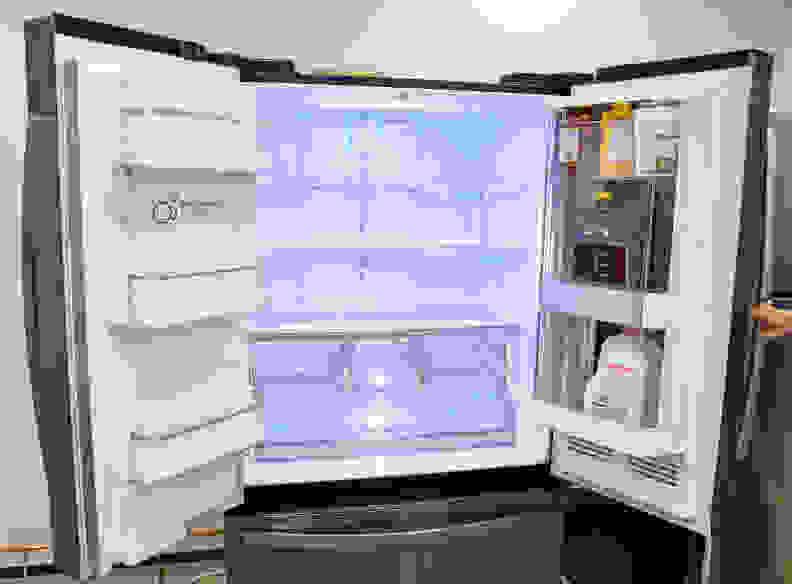 LG InstaView Interior
