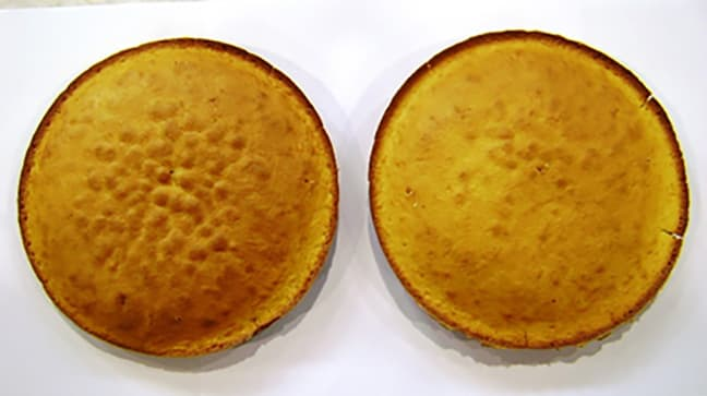 Lower oven cake top standard