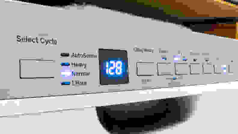 GE GDF630PSMSS Dishwasher — Controls