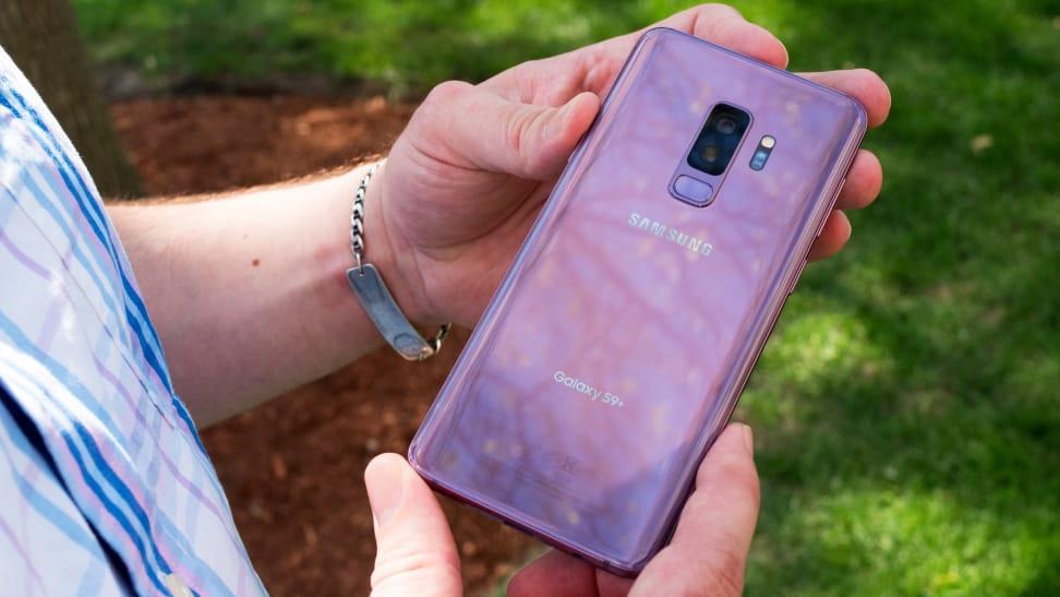 Samsung Galaxy S9+ Back