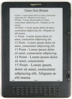 Product Image - Amazon Kindle DX