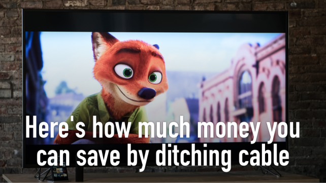 Save money, ditch cable