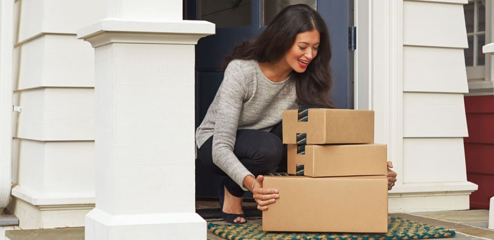 Amazon delivers physical and digital goods right to your hands.