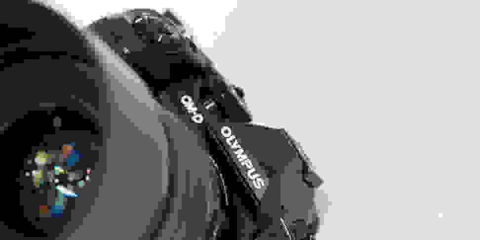 Olympus OM-D E-M1 Mark II Jaunty Angle