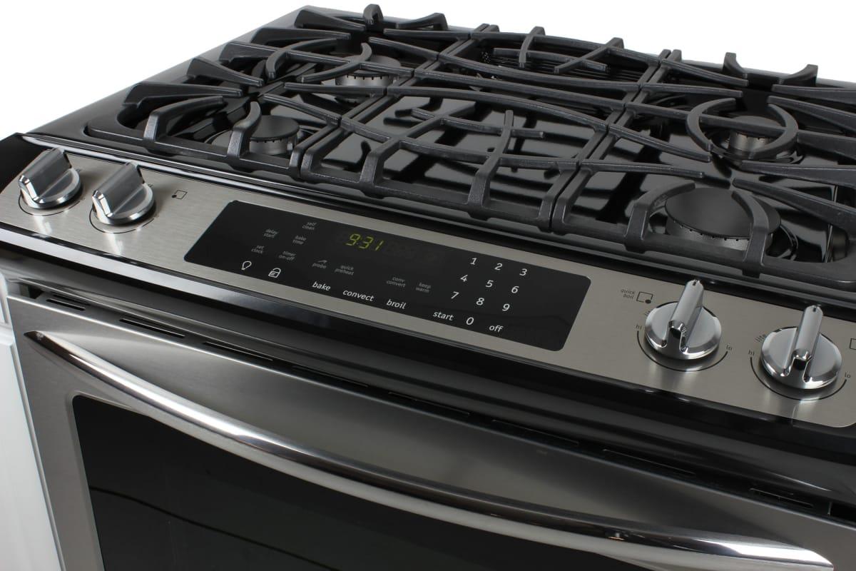 frigidaire fggs3065pf slide in range review ovens. Black Bedroom Furniture Sets. Home Design Ideas