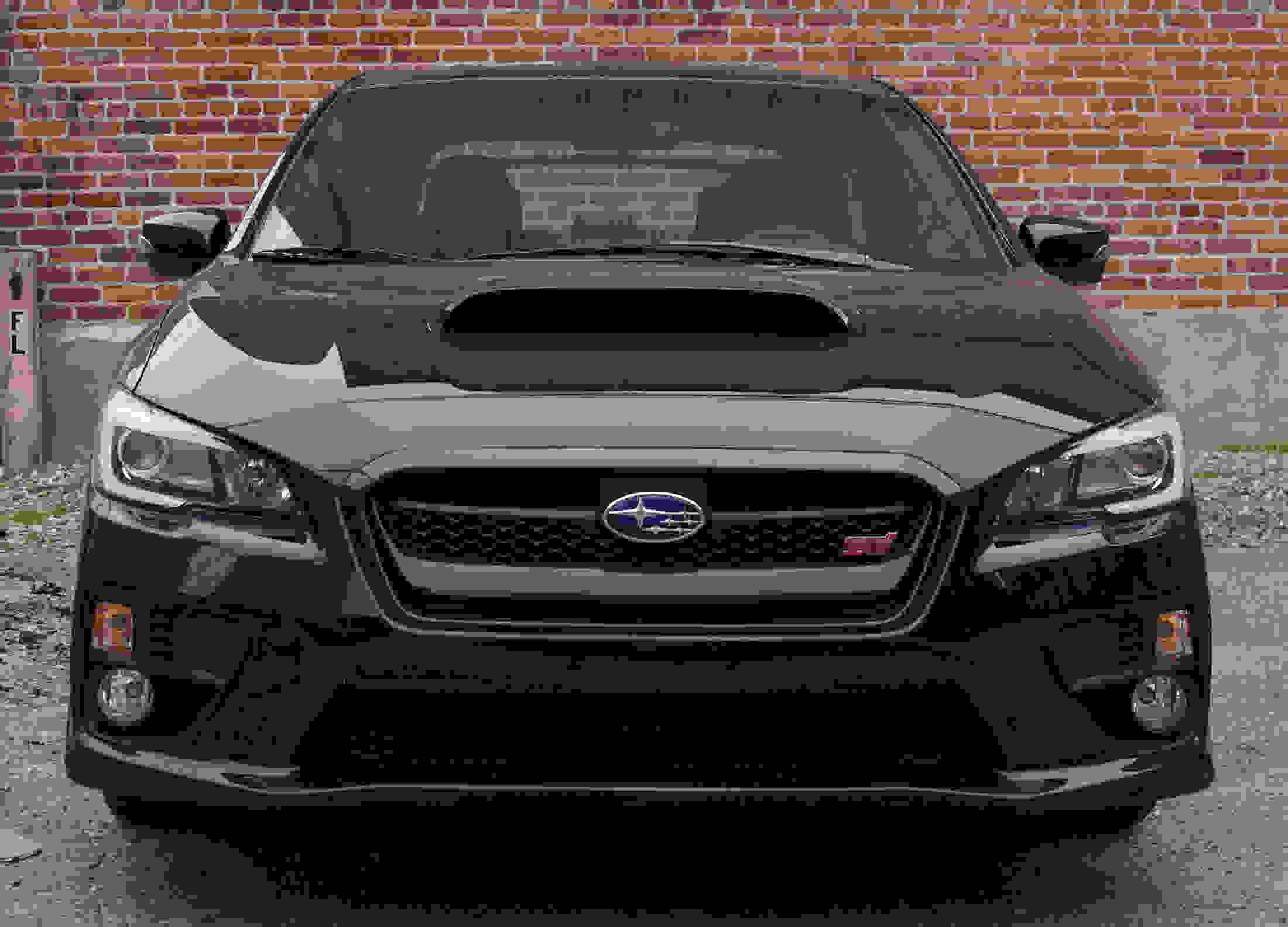 The hood scoop on the 2015 Subaru WRX STI