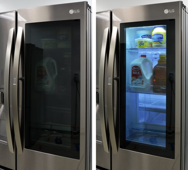 Is the LG InstaView see-through fridge the future? We have the