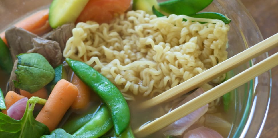 how to get a real meal out of instant ramen - reviewed ovens