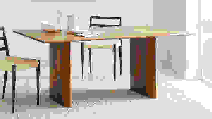 West Elm Anton Solid Wood Dining Table