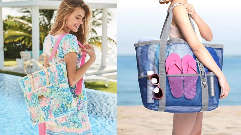 Beach bags for summer