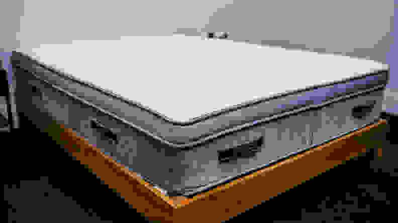 awara mattress on bed frame
