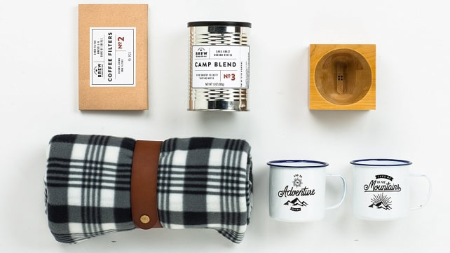 Thoughtfully Gifts Coffee Camp Gift Box
