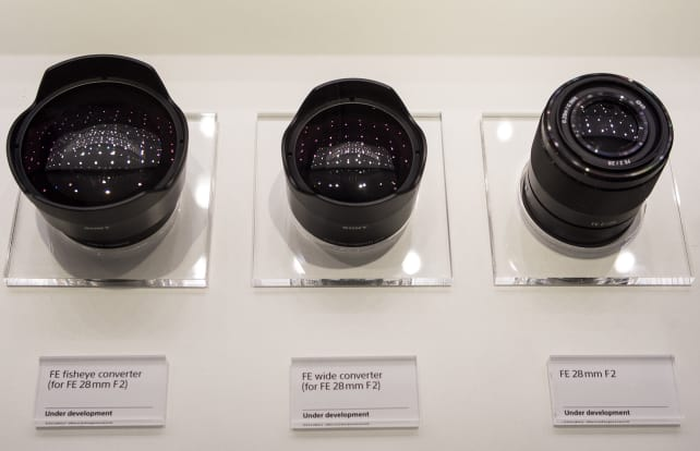 FE 28mm f/2 – With Converters