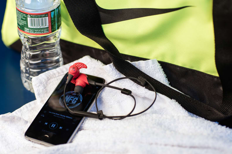 Jaybird and gym bag accessories