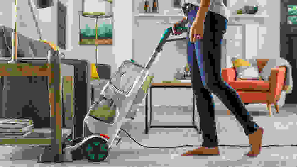 Buying a carpet cleaner is more economical.