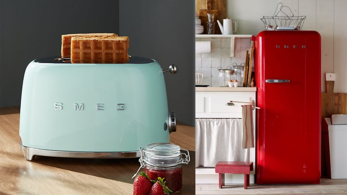 People are obsessed with retro appliance brand Smeg—are the products actually worth it?