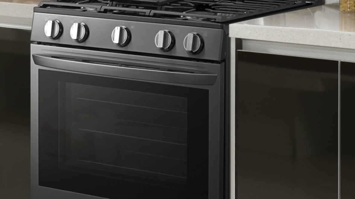LG LREL6325 InstaView ThinQ Range with Air Fry