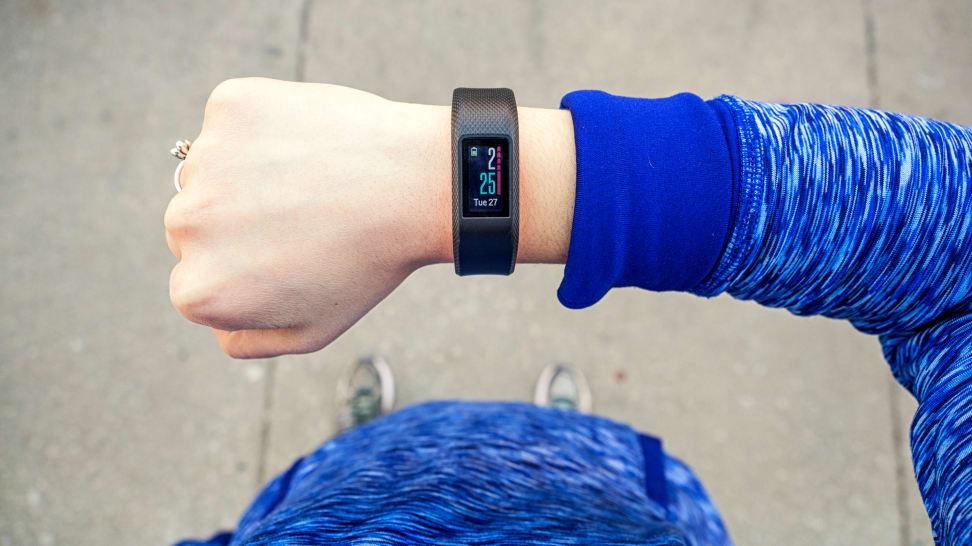 Garmin Vivosport on Wrist