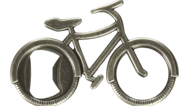 Kate Aspen Bike Bottle Opener