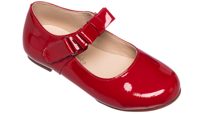 Elephantito Charlotte red shoes