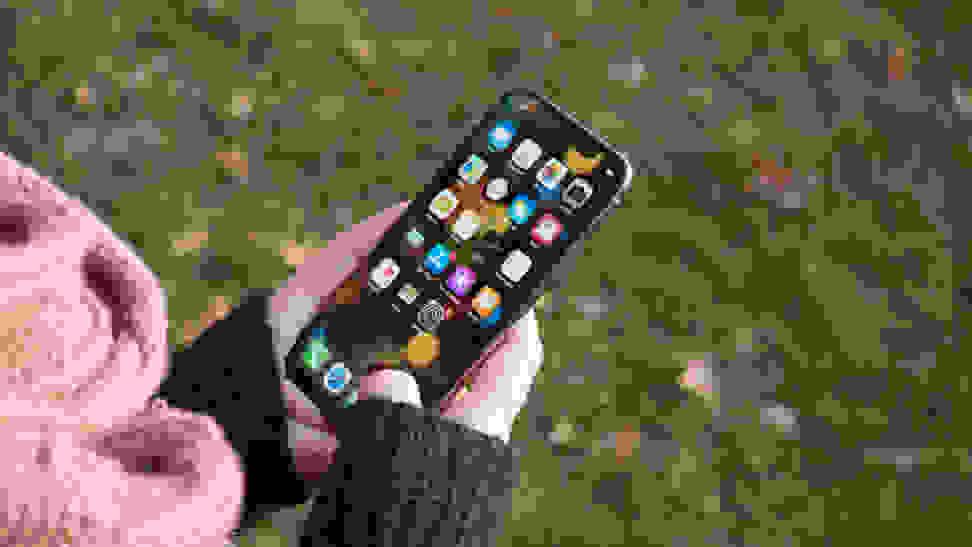 Apple iPhone X In Use