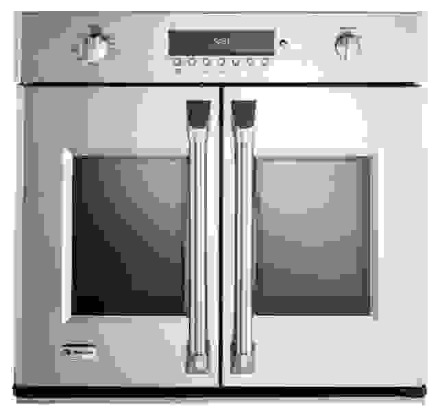 GE French door wall oven
