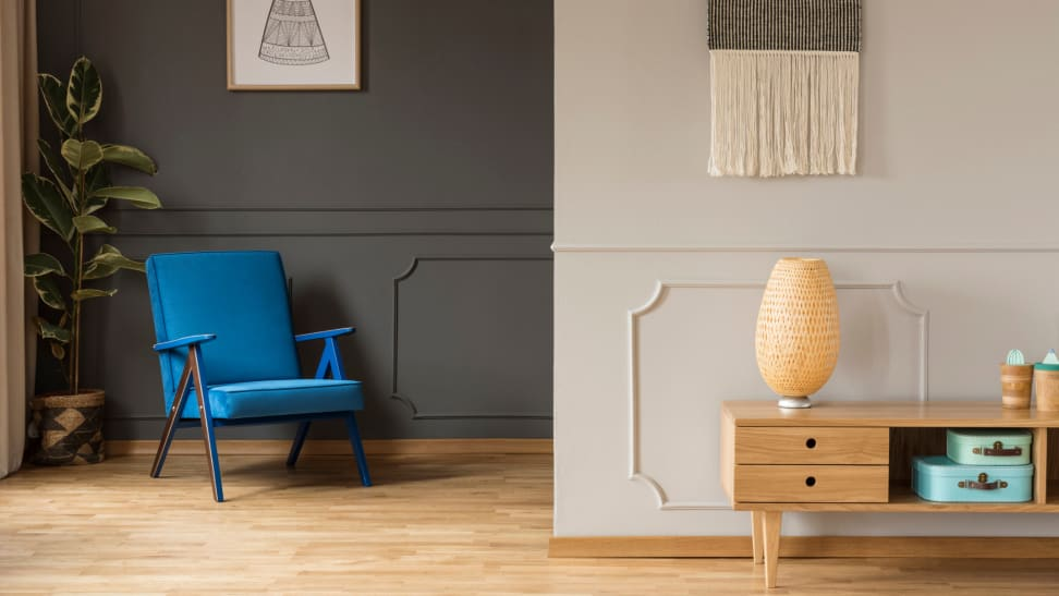Different room painting ideas offer different spatial perspectives