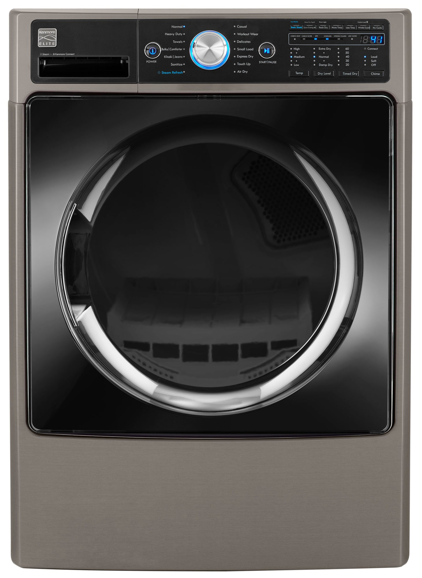 Steam, space, and style—the Kenmore Elite 91583 has it all.