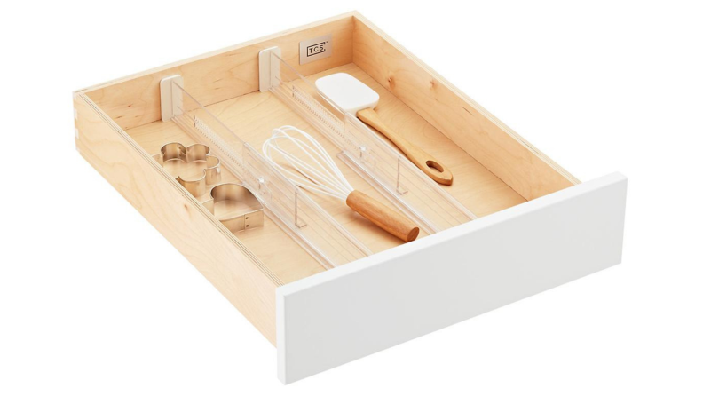 The Container Store expandable drawer dividers