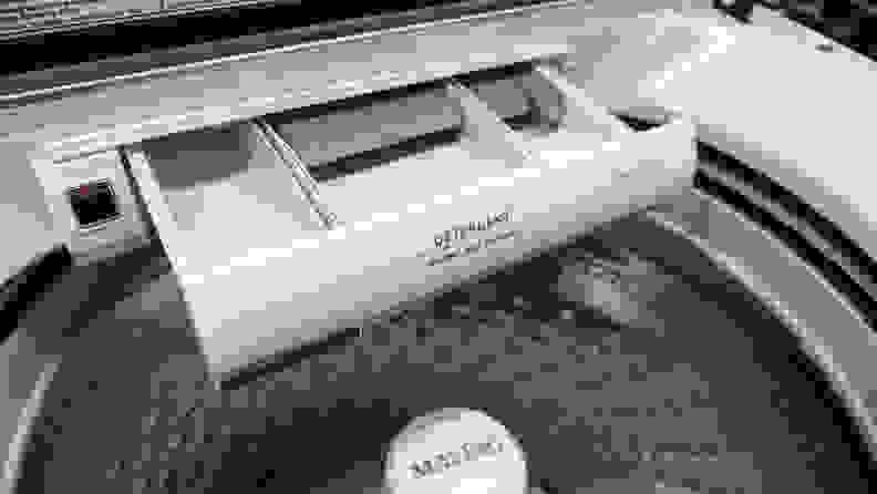 Maytag MVW7230HW Washing Machine Review — Dispenser